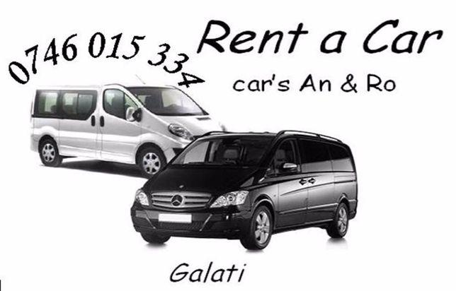 inchirieri auto - rent a car
