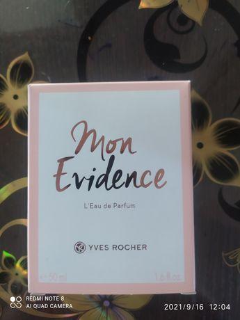 Духи  Mon Evidence  YVES ROCHER