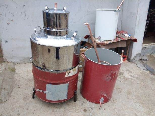 Cazane de țuică de inox sau cupru