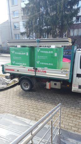 transport marfa mobila nisip sort pamant negru mranita escavator