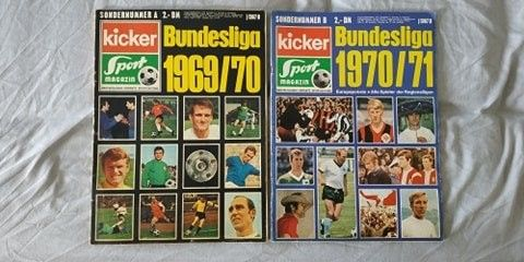 Списания Кикер ( годишници 1969/2003)