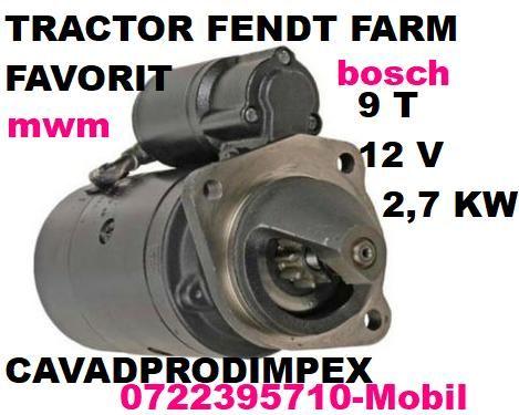 ELECTROMOTOR nou bosch pentru tractor Fendt