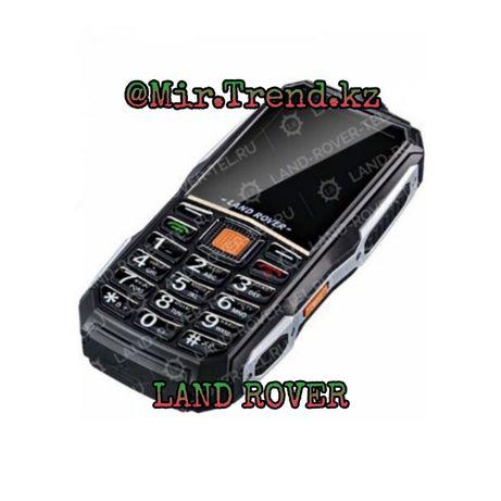 ХИТ Телефон Land Rover,лэндровер 2 сим FM-радио фонариком повербанком