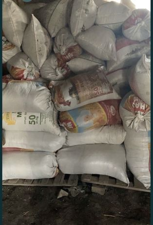 Сухие отходы по 400тг от семечек в мешках