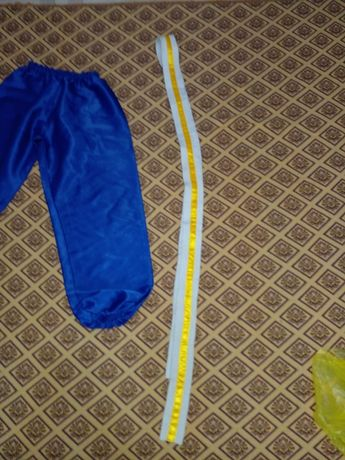 Штаны,пояс   для  секции УШУ на 6-8 лет.