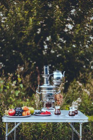 Самовар на Дровах +Чайник(новый)
