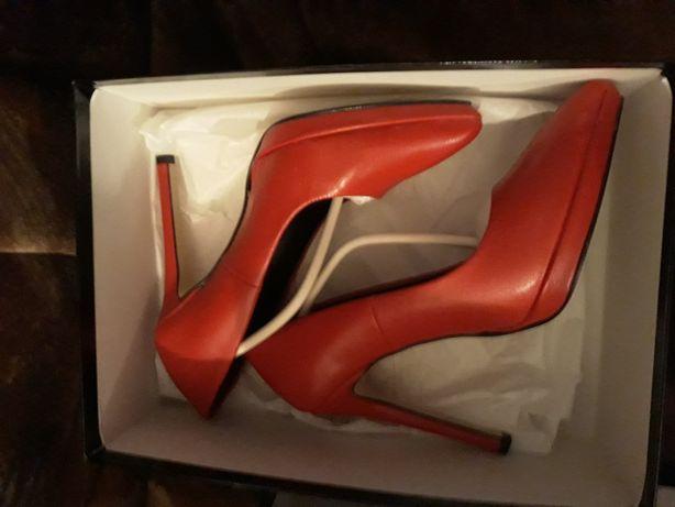 Pantofi piele naturală Zee Lane