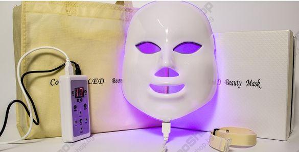 ПРОМО Козметична LED маска за лице и фотодинамична терапия