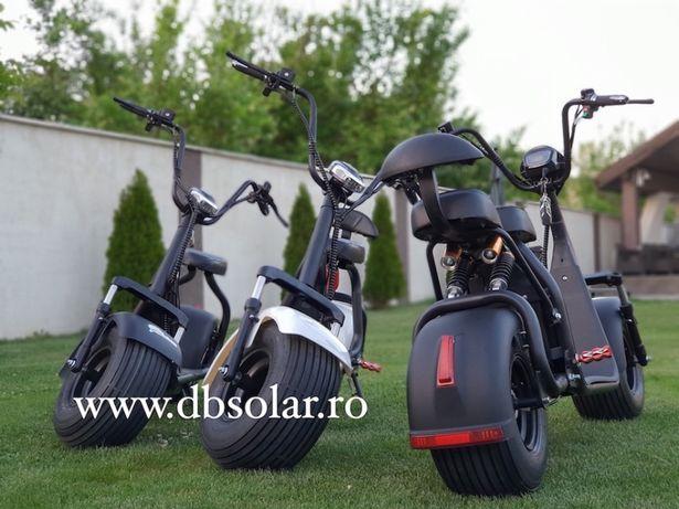 SCOOTER ELECTRIC Trotineta 12Ah 40Km Autonomie Scuter Harley SIGILAT‼️