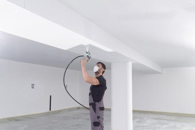 Безвоздушная покраска любых помещении