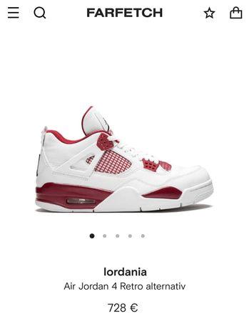 Nike Air Jordan 4 Retro Alternate 89  45.5