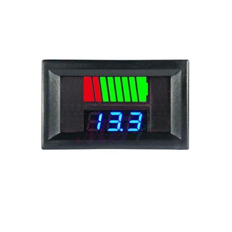 Indicator STARE nivel BATERIE auto bicicleta trotineta 12V 24V 48V 60V