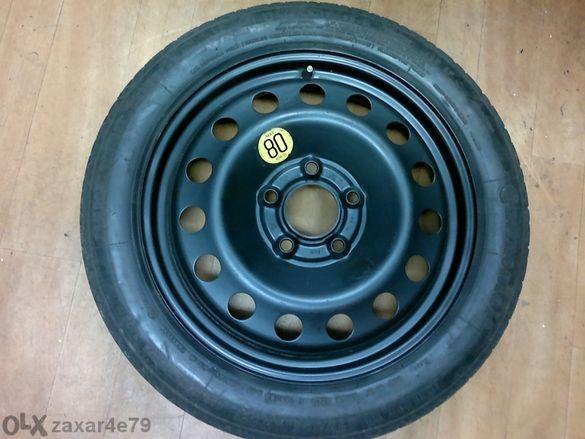 резервна гума патерица 17 цола за бмв е90 и е46 5x120