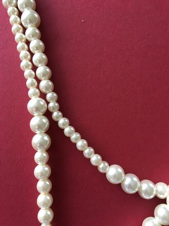colier si bratara perle imitatie