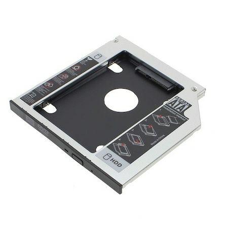 Адаптер за втори диск HDD/SSD за лаптоп на място на CD/DVD 9.5мм SATA