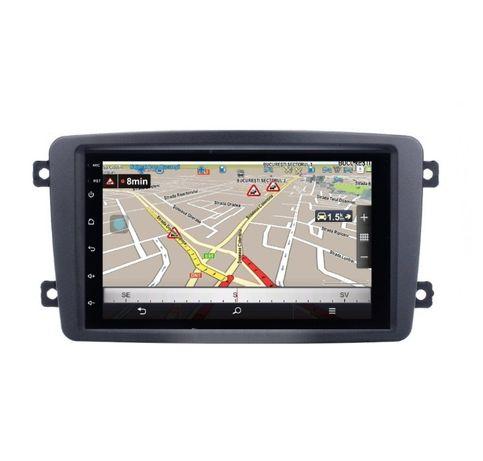 Navigatie Android 9.1 Mercedes C-CLASS W203 Vito Viano GPS RADIO WAZE