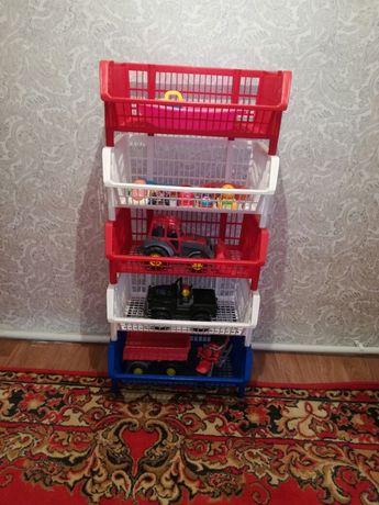 Корзины для игрушек, 5000 тенге за все