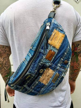 Дънкови чанти и престилки / ръчна изработка
