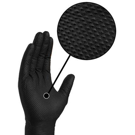 Manusi mecanica cu striatii -XL.Manusi nitril L negru+ xxl.Nu se rup!