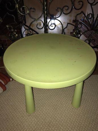 Стол и стул детский Икея