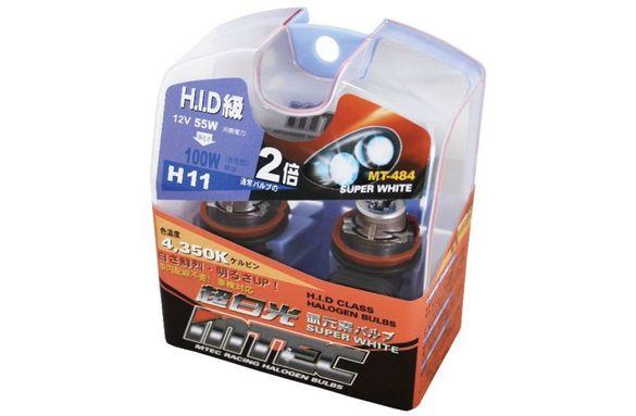 H11 Оригинални Японски Автомобилни Крушки Мтек MTEC HID 55W-100W 4350К