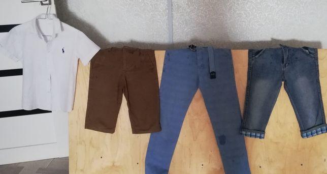 Шорты каждый по 3тыс, турецкий джинсовый брюки по 4тыс на 10-12лет