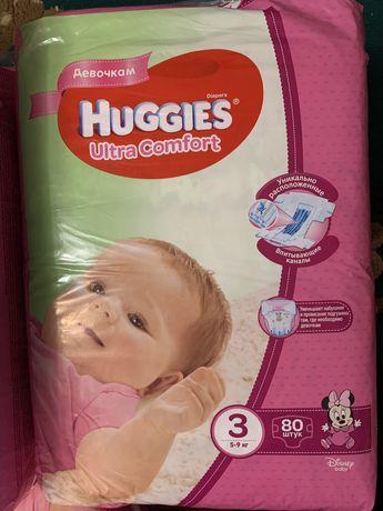 Памперсы Huggies
