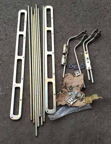 Багажник за кола - унииверсален, товарен, метален, разглобяем