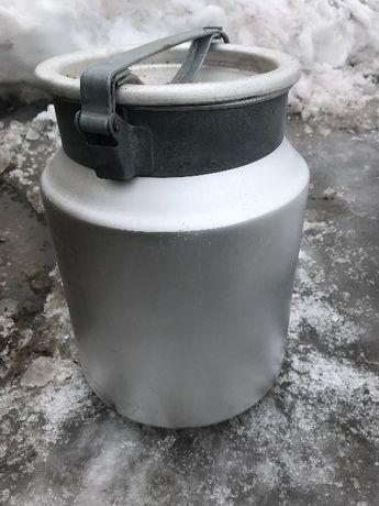 Бидон для молока, новый, из алюминия, 20 литров