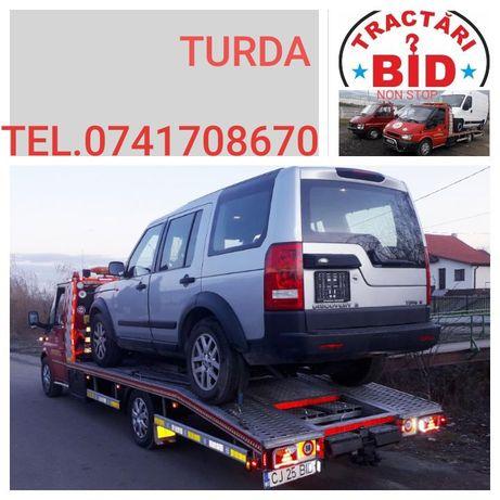 Tractări auto Turda,Campia Turzii,Luna,Unirea,Gilau,Autostrada A3