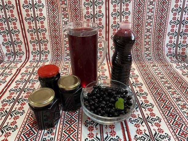 Coacăze negre - produse naturale