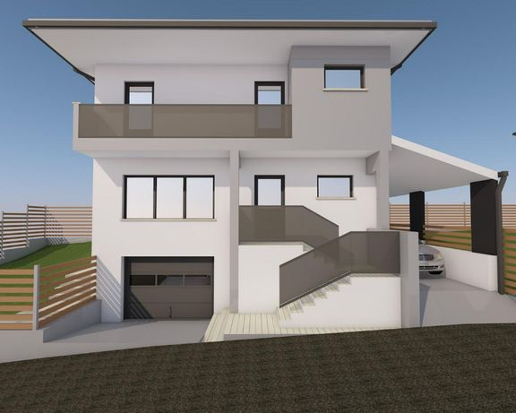 Vand casa D+P+E individuala GARAJ 170mp utili+apa,gaz,curent,canalizar