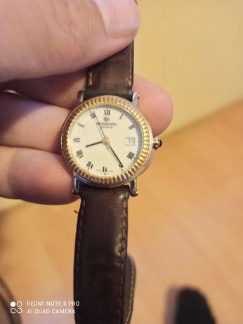 дамски часовник с бяло злато и сапфир