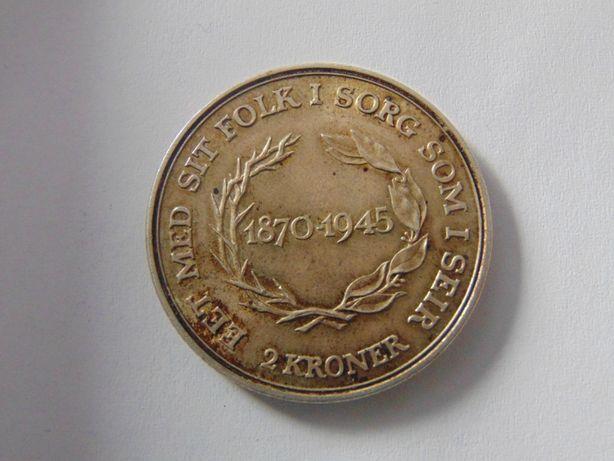 Monede argint 2 kroner, tiraje mici