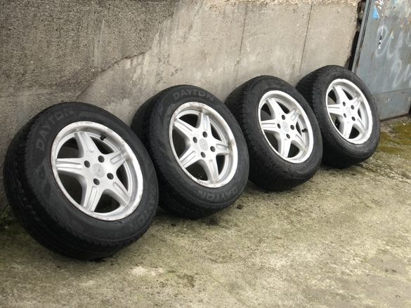 "Алуминиеви Джанти с гуми за Ford DBV 15"" 4X108 Made in Germany"