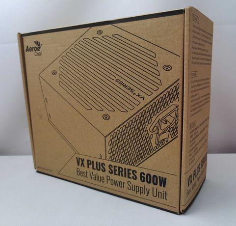 Блок питания AeroCool VX Plus 600W новый, в коробке