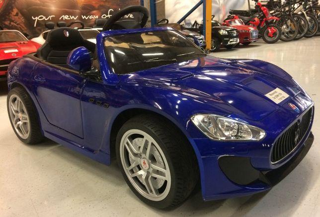 Masinuta electrice pentru copii Maserati Kids 2x 35W #Albastru