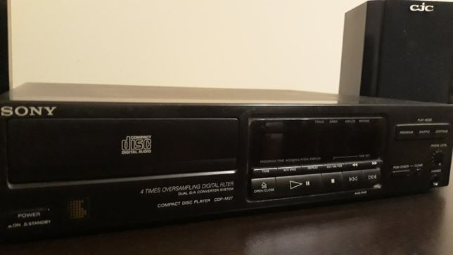 CD player SONY CDP-M27, sistem audio CJC.