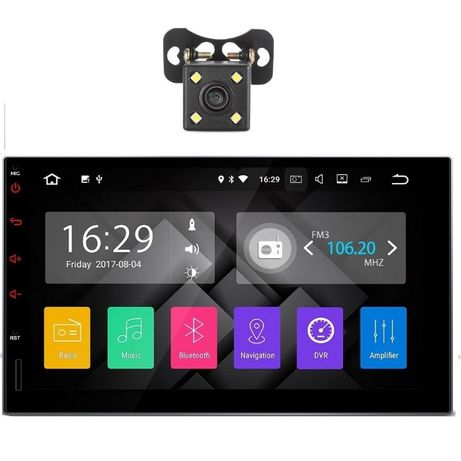 Mp5 player , Gps Full Europa Inclus,,WI-FI+CAMERA, ANDROID 8.0, GPS