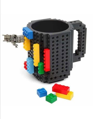 Кружка Lego. Кружка-конструктор.