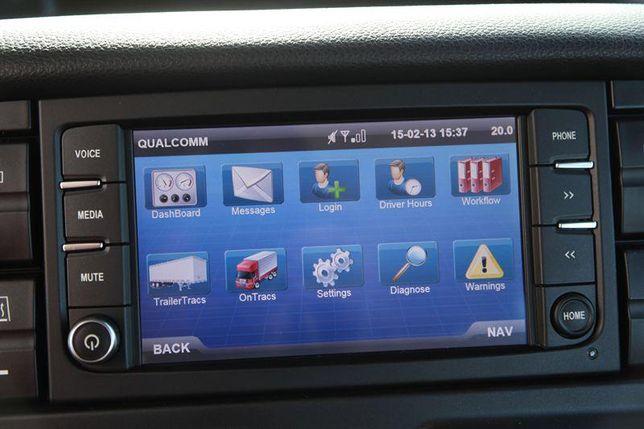 Card navigatie Iveco XP Daily Stralis Hi-Way Harta Europa 2020-2