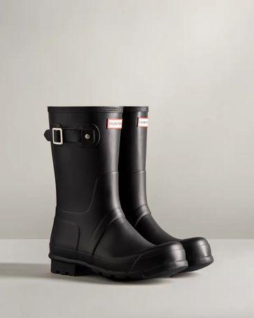 Hunter Wellington boots, мужские резиновые сапоги Hunter, 43 размер