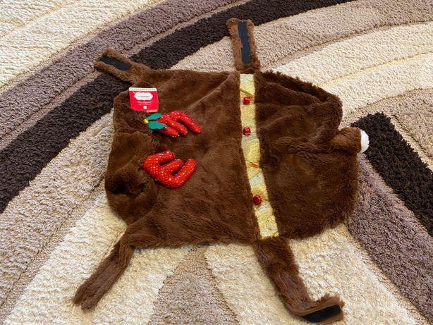 Costum de câine pisică de Crăciun ren