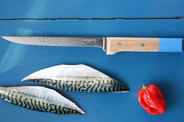 Кухненски нож, филетиране, Opinel 121,включена доставка