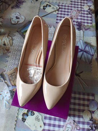 Pantofi de damă mărimea 37, beige