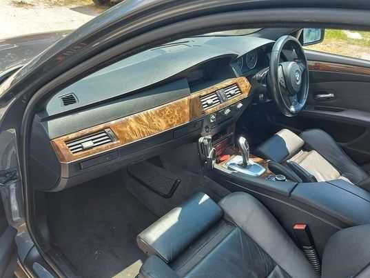 Черно кожено RECARO за BMW e60 2008 г. >