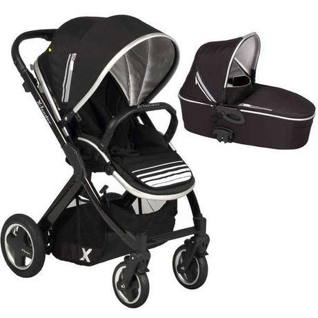 Бебешка количка X-lander X-Pulse + кош за новородено