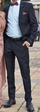 Мъжки костюм slim fit Teodor