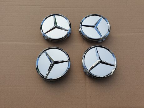 Set 4 capace jante aliaj Mercedes 75 mm