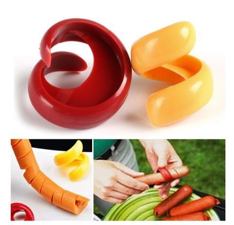 Пластмасови ножчета за рязане на кренвирши и зеленчуци